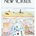 New Yorker March 29, 1976 by Saul Steinberg