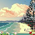New Zealand Orewa Beach by Illidan Raven