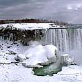 Niagara Falls Late Winter by Rick Mcclelland