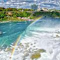 Niagara Falls Rainbow by Lynn Bauer