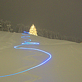 Night Skiing by Mike Meysner Photography