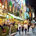 Night Walk Past Oliver St. John Gogarty's In Dublin by John Rizzuto