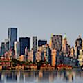 Nj Nyc Skyline Panorama by Susan Candelario
