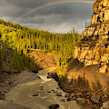 Nordegg Bighorn Canyon Rainbow by Adam Jewell
