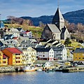 Nordlandet Church,  Kristiansund , Norway by Martyn Arnold