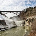 Winter At Letchworth State Park by Jim Lepard