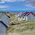 Normandy Beach Cabins by Arterra Picture Library
