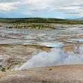 Norris Geyser Basin Yellowstone by John M Bailey