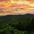 North District Of Shenandoah Sunset by Raymond Salani III