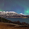 Northern Lights Over Grytoya by Kai Mueller