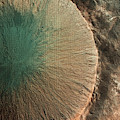 Northern Plains Crater In Mars by Weston Westmoreland