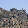Northrup Canyon - Granite And Basalt by Charles Robinson
