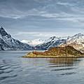 Norwegian Mountain Landscape Lofoten by Martyn Arnold