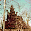 Norwegian Stave Church by Bob Phillips