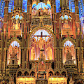Notre Dame Altar Montreal by John Rizzuto