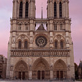 Notre Dame Cathedral Dawn by Jemmy Archer