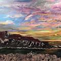 Nubble At Sunrise by Francois Lamothe