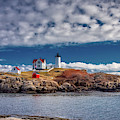 Nubble Lighthouse 7492 by Guy Whiteley