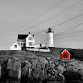Nubble Power - Christmas Red by Luke Moore