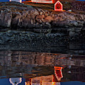 Nubble Lighthouse Reflection by Susan Candelario