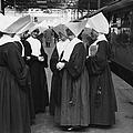 Nuns At Euston by Erich Auerbach