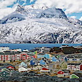 Nuuk Scandinavian Panorama by Anthony Dezenzio
