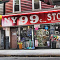 Ny 99 Cent Store Brooklyn  by Chuck Kuhn