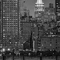 Ny Life Building Bw by Susan Candelario