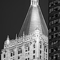 Ny Life Ins Building Bw by Susan Candelario