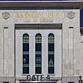 Ny Yankee Stadium Gate 4 by Susan Candelario