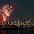Nyc And Nj Salutes America by Susan Candelario