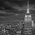Nyc Esb Wtc Golden Hour  Bw by Susan Candelario