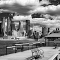 Nyc Skyline Hudson Yards Ir by Susan Candelario