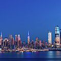 Nyc The Blue Hour by Francisco Gomez