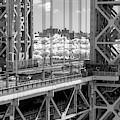 Nyc Washington Bridge Gwb  by Susan Candelario