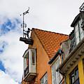 Nyhavn Waterfront In Copenhagen Iv by William Dickman