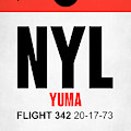 Nyl Yuma Luggage Tag I by Naxart Studio