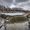 Oak Creek Parkway Waterfall by Randy Scherkenbach