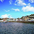Oban Town Harbor by Anthony Dezenzio