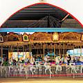 Ocean City Carousel At Wonderland by Kristia Adams