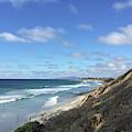 Ocean Surf In Carlsbad, California by Kirt Tisdale