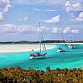 Ocean View From Warderick Cay In Exumas by Danita Delimont
