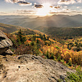 October On The Blue Ridge Parkway  by Donnie Whitaker