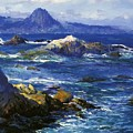 Off Mission Point Aka Point Lobos by Guy Rose
