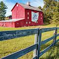 Ohio Bicentennial Barn In Autumn 1803 - 2003 by Gregory Ballos