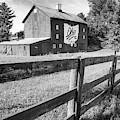 Ohio Bicentennial Barn In Monochrome 1803 - 2003 by Gregory Ballos