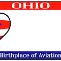 Ohio License Plate by Bigalbaloo Stock