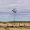 Oklahoma Windmill by Jennifer Thomas