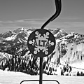 Old Alta Lift Chair Black And White by Adam Jewell