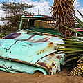 Old And Abandoned Car 2 In Solitaire, Namibia by Lyl Dil Creations